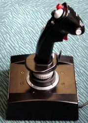 Joystick side view