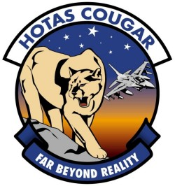 The HOTAS Cougar logo